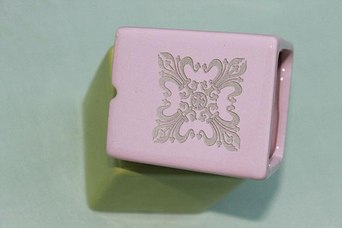 Ceramic laser engraver