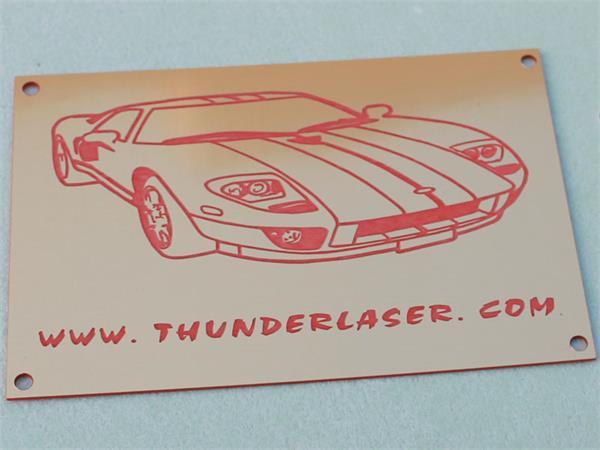 Double_color_ABS laser engraver