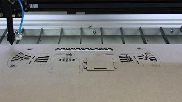 MDF laser cutter