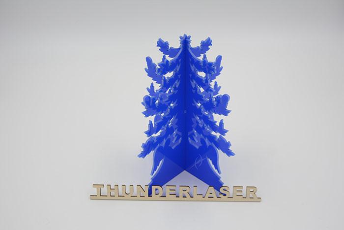 Acrylic pine laser cutter