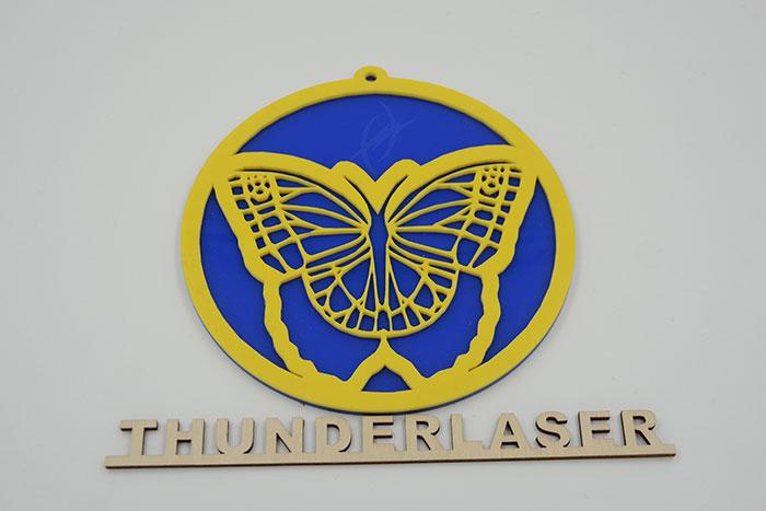 Acrylic butterfly laser cutter