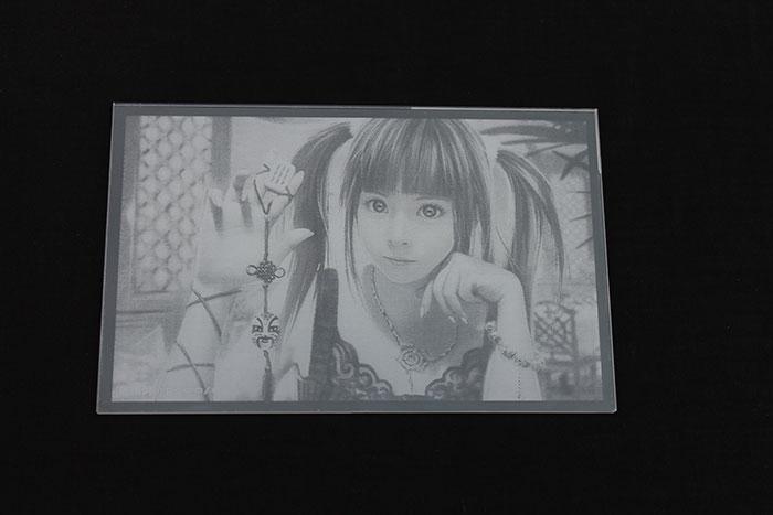 Acrylic photo laser engraver