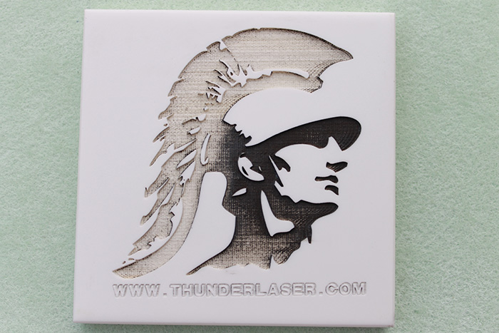 rostone laser cutter sample photo