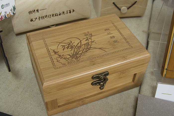 Storage Box Bamboo laser engraver