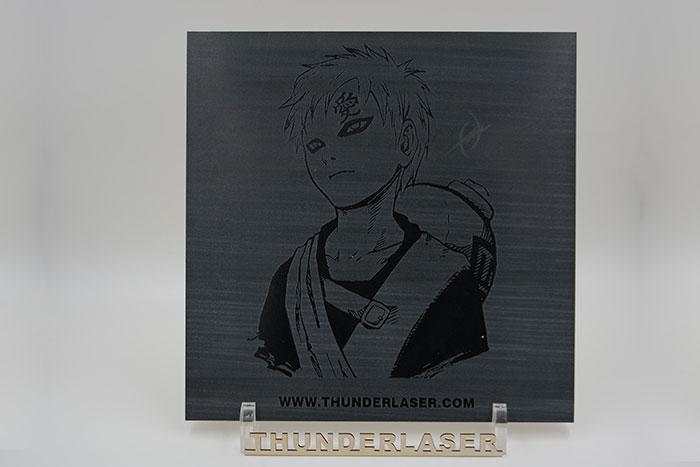 Naruto characters Ceramic laser engraver