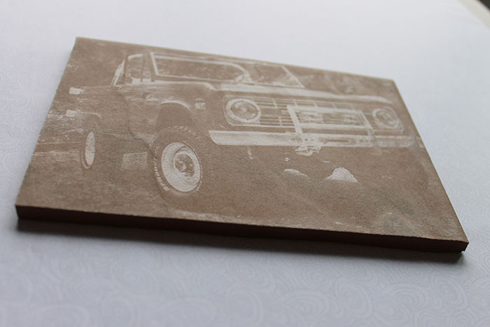 car Ceramic laser engraver