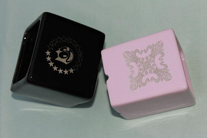 beautiful pink box Ceramic laser engraver