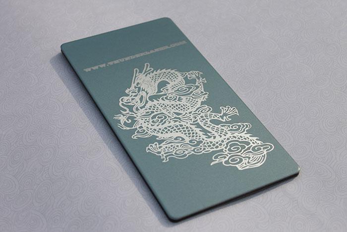 dragon Coated-Metal laser engraver