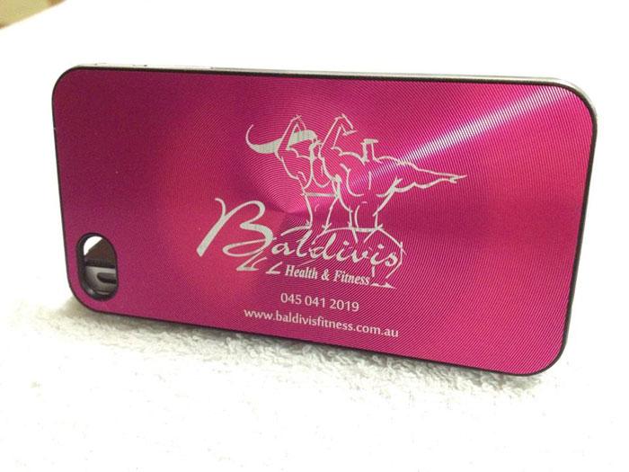 phone case Coated-Metal laser engraver