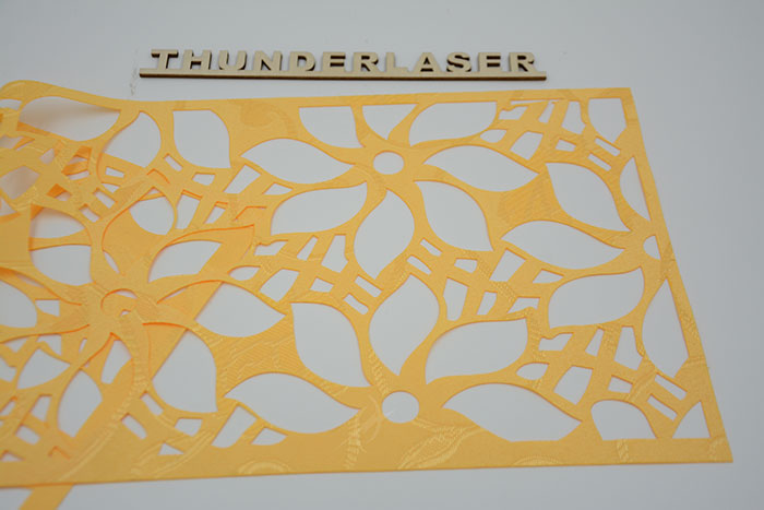 yellow Fabric-Leather laser cutter