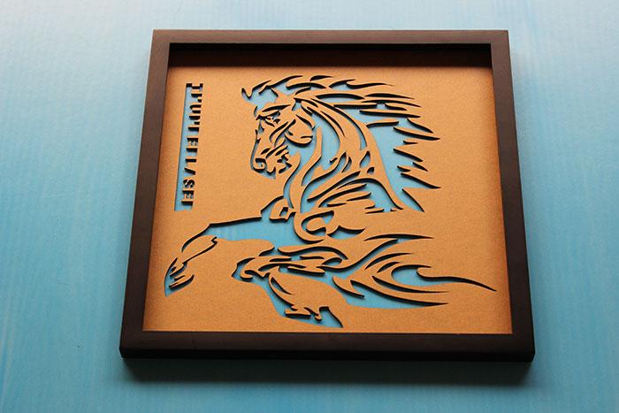 horse Foam laser engraver