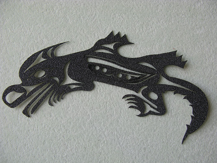 dragon Grip-Tape-photo laser cutter