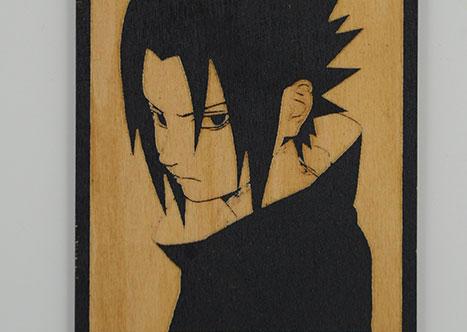 wood Sasuke laser cutter