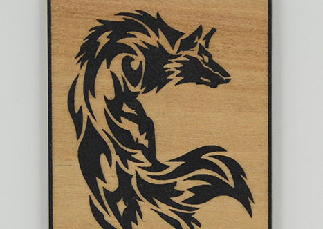 wood wolf laser cutter