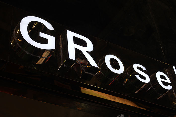 grose Signage-photo laser cutter