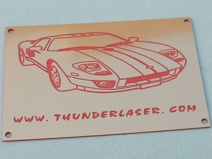 car Signage-photo laser cutter