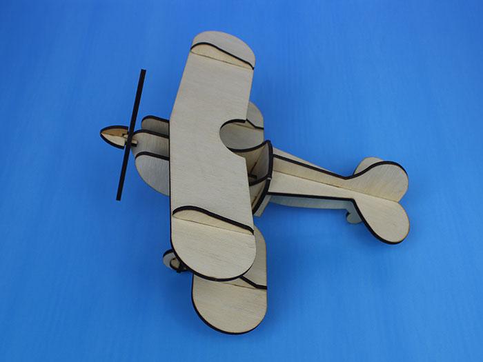 wood air plane laser cutter