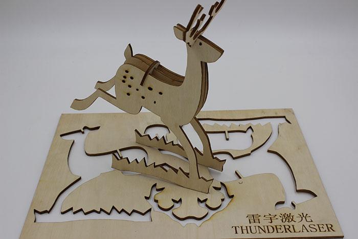 wood elk laser cutter