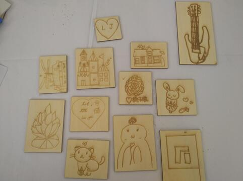 education of steam by laser cutter